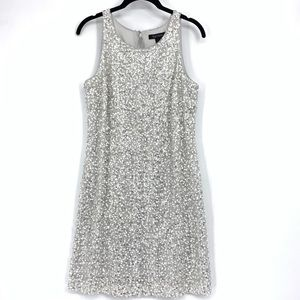 White House Black Market Sequin Bodycon Dress